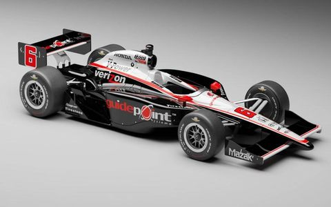 Ryan Briscoe's Guidepoint car