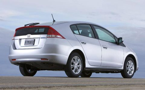 2010 Honda Insight will start at $19,800 for the LX