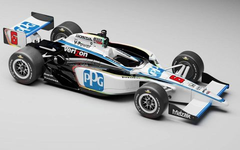 Ryan Briscoe's PPG car