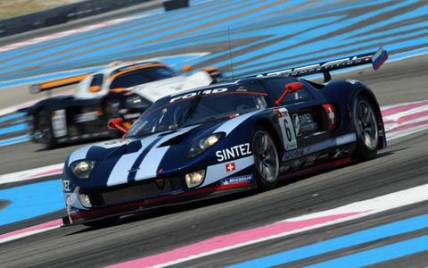 Swiss Matech Competition Ford GT GT1 race car
