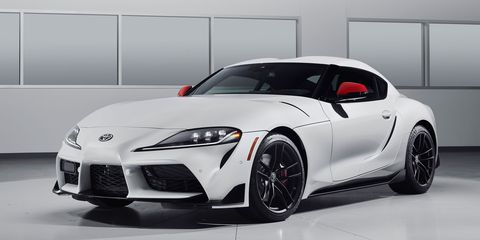 The 2020 Toyota Supra made its debut at the Detroit auto show.