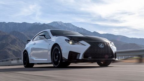 Both the 2020 Lexus RC F and RC F Track Edition come with a 472 hp, 5.0-liter V8.
