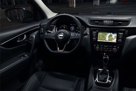 A look inside the 2020 Nissan Rogue Sport updated and revealed at the Chicago Auto Show