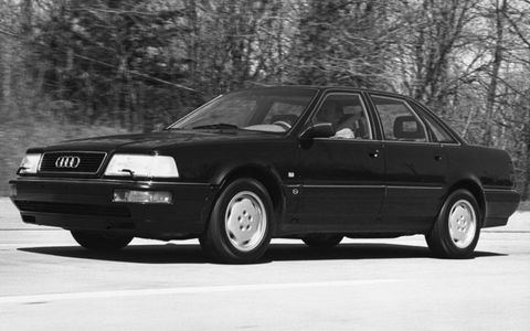 The 1990 Audi V8 was also known as the D1