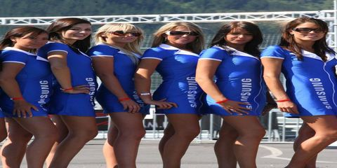 New Zealand was very good to this week's gallery. The country hosted the A1GP World Cup of Motorsport and there were some very lovely grid girls there.