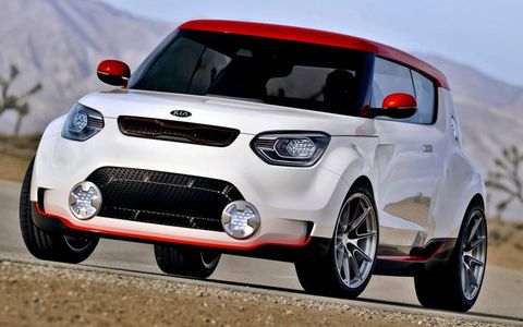 The Kia Track'ster concept is based on the Soul wagon.