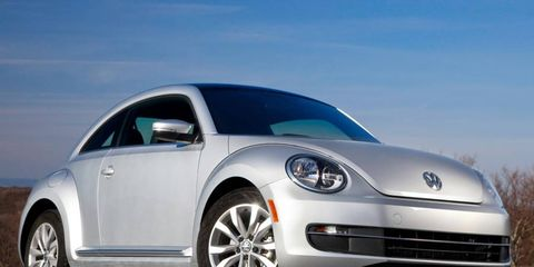 Volkswagen adds a diesel engine option to the Beetle.