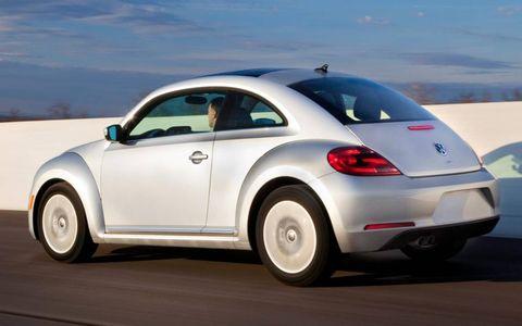 The diesel Beetle goes on sale this summer.