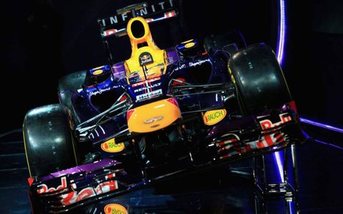 The Infiniti Red Bull Racing RB9.