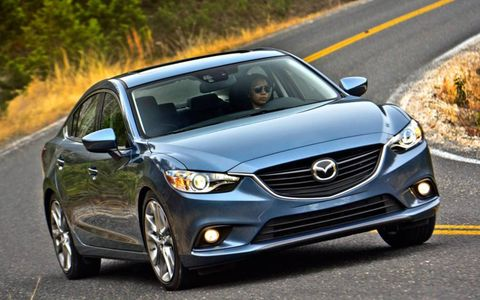 The Mazda 6 can go from 0-60 mph in an estimated 8.2 seconds.