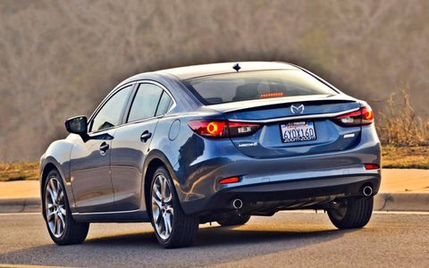 Mazda will also offer the 6 with a diesel engine. We can't wait to drive it!