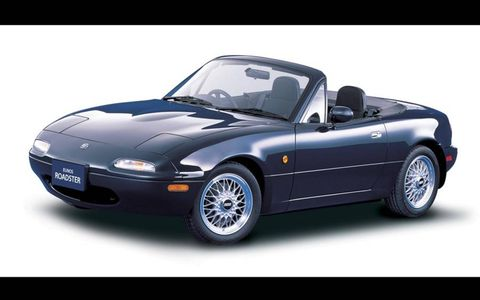 The first generation Mazda Miata MX-5