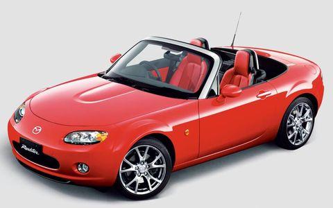 The third generation Mazda Miata MX-5