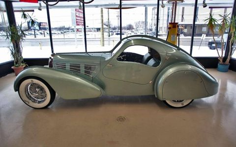 After years of labor, the long-lost, magnesium-bodied 1935 Bugatti Aerolithe coupe has been re-created.