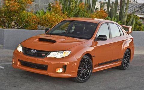 The 2013 Subaru WRX STI Special Edition will be on sale on spring at a $500 premium over the top trim.