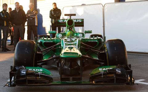The Caterham C03 is launched on Tuesday in Jerez, Spain.
