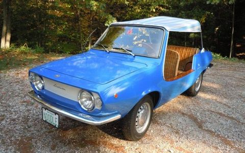This 1969 Fiat Shellette Michelotti is one of only 80 built and one of just 10 known to survive.