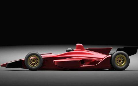 First of three 2012 Dallara IndyCar Concepts revealed Feb. 5 2010