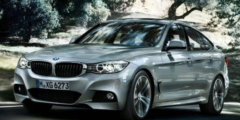 The 2014 BMW 3-series GT goes on sale this summer.
