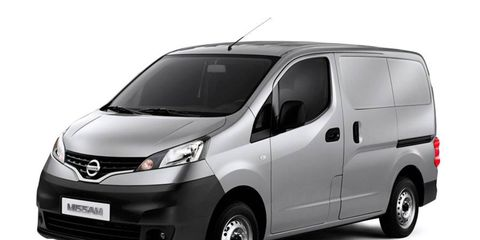 The 2013 Nissan NV200 compact cargo van will have a $19,900 base price and will go on sale in April.