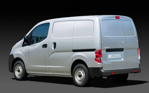 The 2013 Nissan NV200 can haul up to 1,500 pounds.