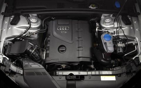The 2013 Audi A5 Premium Plus coupe has a well-equipped 2.0-liter TFSI-turbocharged I4.