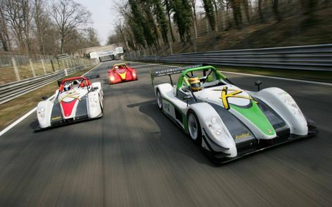 The Radical Cup features the Radical SR3 and SR8 in two classes over 12 events.