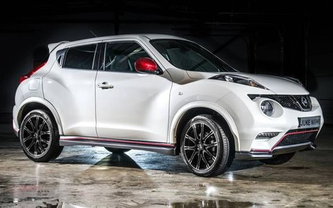 A reworked 1.6-liter DOHC four-cylinder turbocharged engine takes the Juke's horsepower from 188 hp to 197 hp and increases torque from 177 lb.-ft. to 184 lb.-ft.