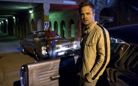 "Aaron Paul stars as Tobey Marshall in ""Need For Speed,"" out March 14th."