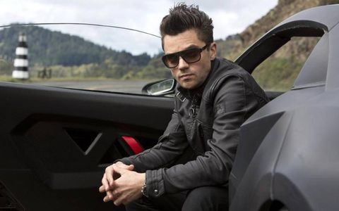 This is the bad guy (played by Dominic Cooper).