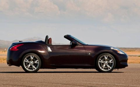 The as-tested price for our 2013 Nissan 370Z Roadster Touring tester was $50,055 ... that's a lot more than the $44,950 base price.