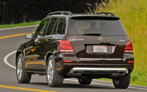 The base price for a 2013 Mercedes-Benz GLK350 is $37,965, but our tester came in at $54,025.