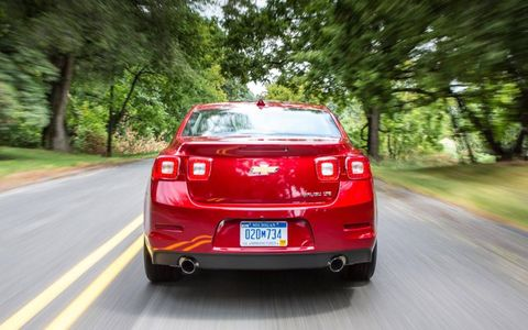 The 2013 Chevrolet Malibu 2LTZ's ride is comfortable, and there is enough power to get you moving.