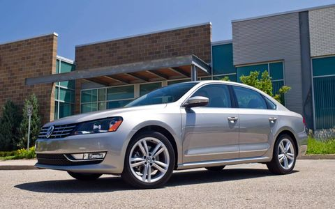 We put 8,447 miles on our long-term 2012 Volkswagen Passat TDI SE during the second quarter.