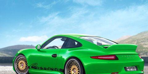 Porsche 911 Carrera S with HRE 501 wheels