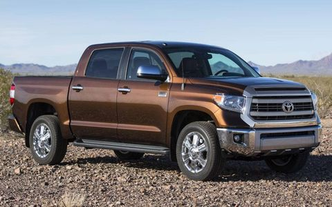 The 2014 Toyota Tundra uses the same engine lineup at the 2013 model.