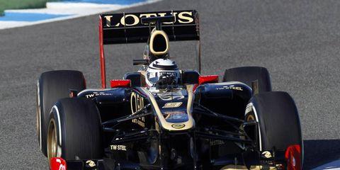 Kimi Räikkönen was quickest in testing on Tuesday at Jerez.