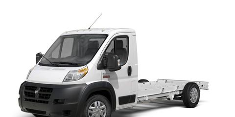 The Ram ProMaster comes in a variety of heights, lengths, and wheelbases to help businesses customize the truck to their needs.