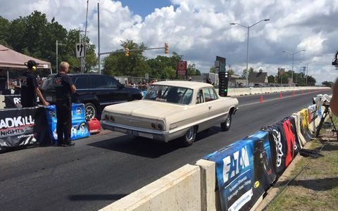 Roadkill Nights at M1 Concourse and Woodward Avenue had drag racing, thrill rides and a car show.
