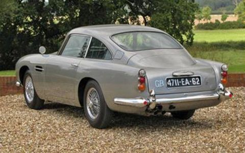 Unlike the DB5 that sold at auction in 2010, this Aston was reportedly used for promotion and was never filmed.