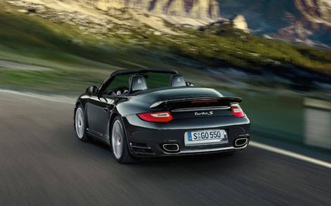 A range-topping 2011 Porsche 911 Turbo S packing 530 hp will be revealed in March at the Geneva auto show
