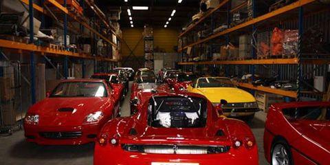 21 vintage Ferraris were sold to Tom Price of California