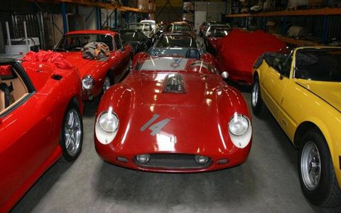 Thomas Hamann of Hamann Classic Cars brokered the biggest sale of Ferraris in twenty years