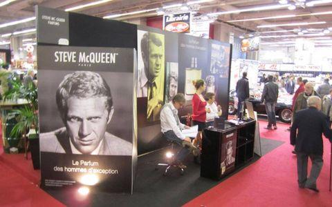 Steve McQueen had a huge presence at Retromobile.