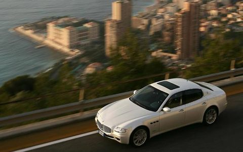 Reduced torque, top speed and an increase in weight don't immediately sound like rationale for an automatic transmission.  However, Maserati's Quattroporte Automatic still provides driver and passengers alike with a blend of performance and luxury.