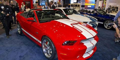 Shelby GT350 Convertible