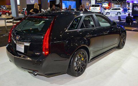 Cadillac CTS-V Sportwagon Black Diamond Edition