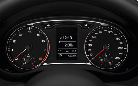 Mode of transport, Speedometer, Tachometer, Red, Gauge, Black, Orange, Trip computer, Measuring instrument, Fuel gauge,