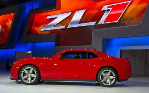 The Chevrolet Camaro ZL1