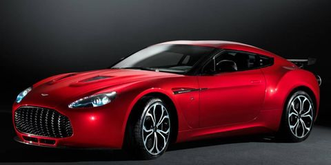Aston Martin plans to build 150 copies of the V12 Zagato.